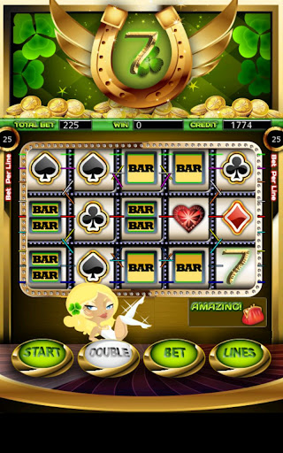 Lucky 7 Slot Machine HD Screen Capture 1