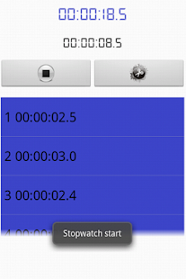 Stopwatch & Countdown- screenshot thumbnail