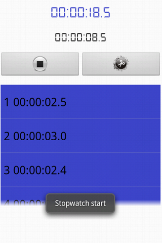 Stopwatch & Countdown- screenshot
