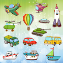 Vehicles and Cars Coloring Kid icon
