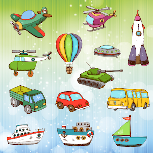 Vehicles and Cars Coloring Kid for PC and MAC