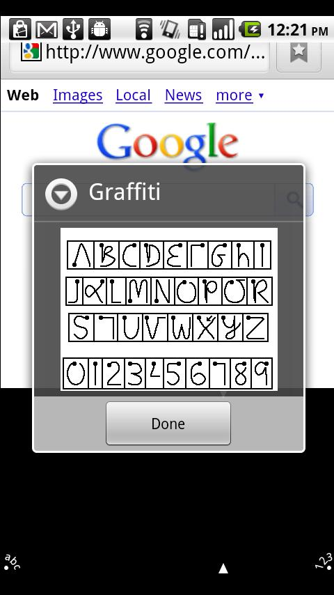 Graffiti for Android - screenshot