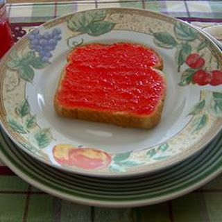 Mock Strawberry Jam.