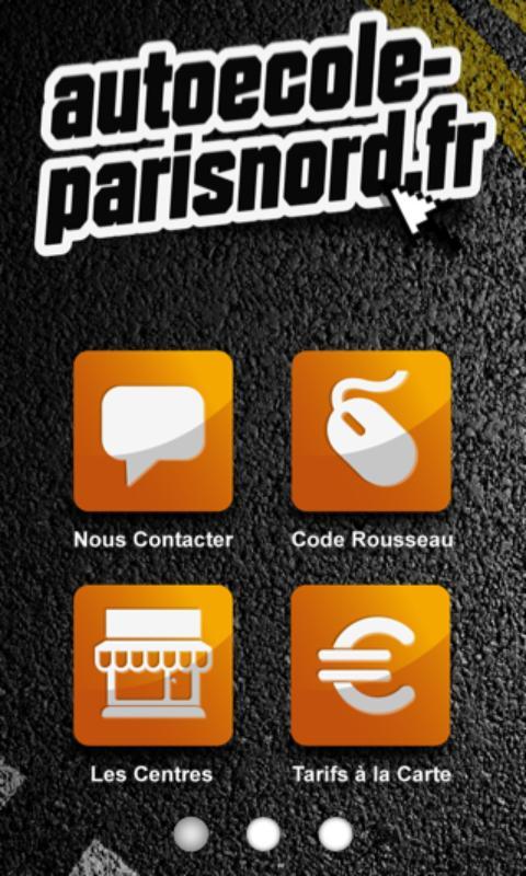 Autoécole-parisnord - screenshot