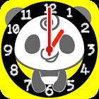 Panda Analog Clocks Full Ver. icon