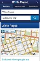 Screenshot of White Pages® Australia
