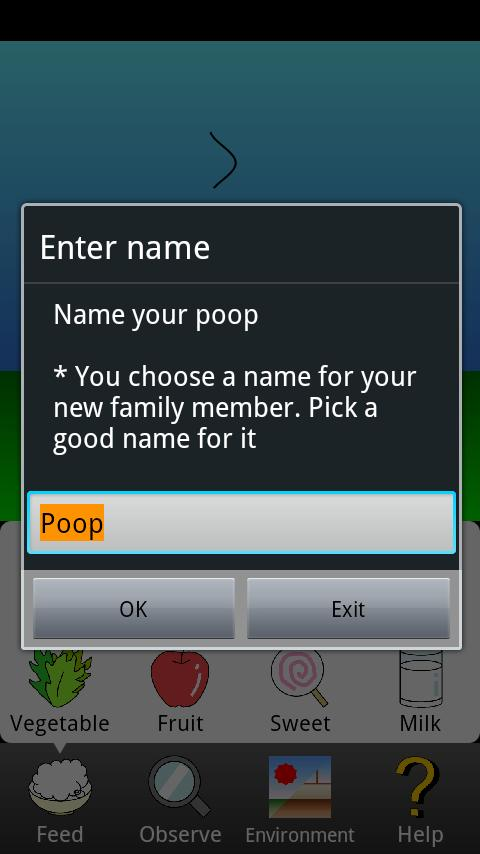 Poop Rearing Simulator Mobile- screenshot