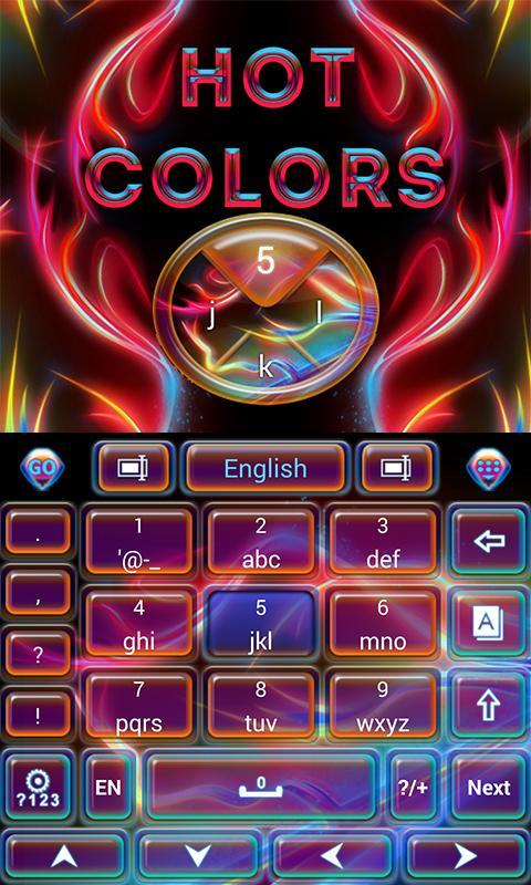 Hot-Colors-GO-Keyboard-Theme 7