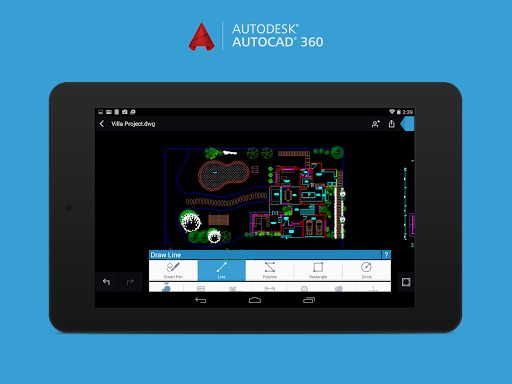 AutoCAD 360 mobile products | 2D CAD software comparison ...