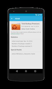 Total Backup - screenshot thumbnail