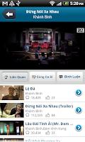 Screenshot of NhacCuaTui Lite