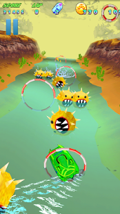Turbo River Racing Free screenshot 2