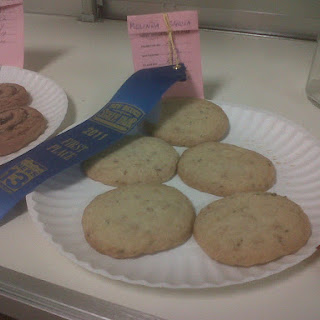 Rosemary Piñon Ice Box Cookies.