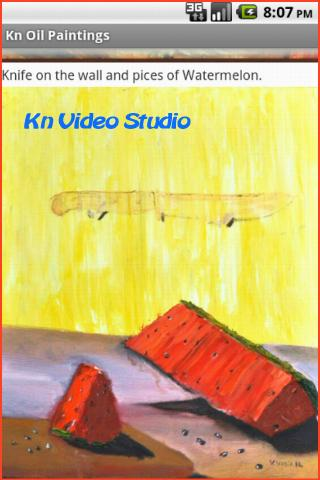 Kn Oil Paintings - screenshot
