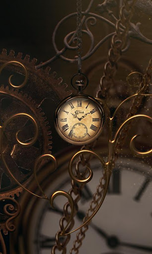 Gold Clock live wallpaper PRO