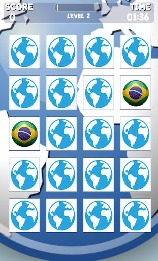 Memory Game : World Flag