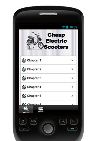 Cheap Electric Scooters Manual - screenshot