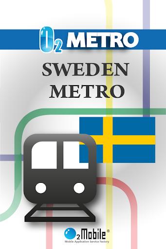 스웨덴 지하철 - 스톡홀름