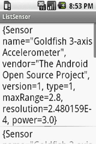 【免費工具App】List Sensors-APP點子