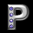 Bling-bling P Monogram icon