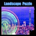 Landscape Puzzle logo