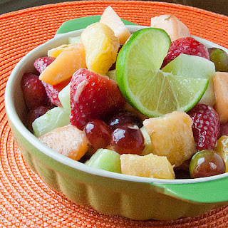 Honey-Lime Fruit Salad.