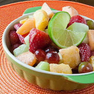 Honey-Lime Fruit Salad.