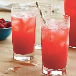 Fresh Raspberry Lemonade.