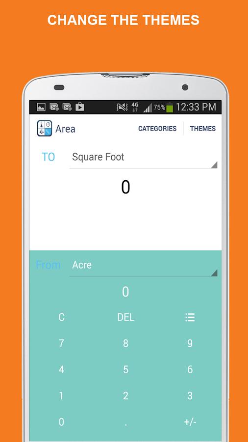 Simple Unit Converter - screenshot