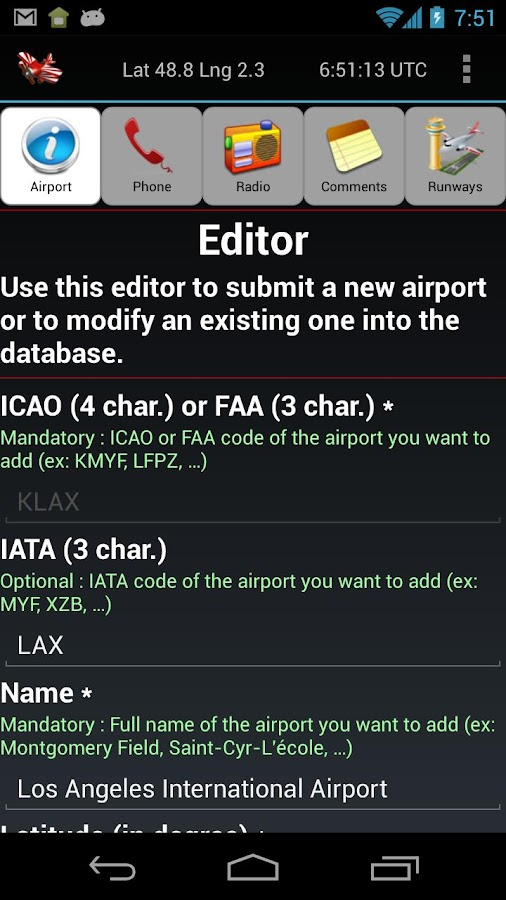 Aviation Tools - screenshot