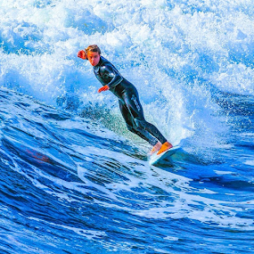 by Roman Gomez - Instagram & Mobile Instagram ( romanphotography, surfen, oceanbeach )