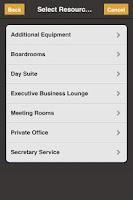 Screenshot of Servcorp Meetings