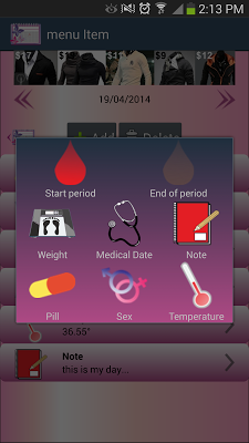 My Period Days - screenshot