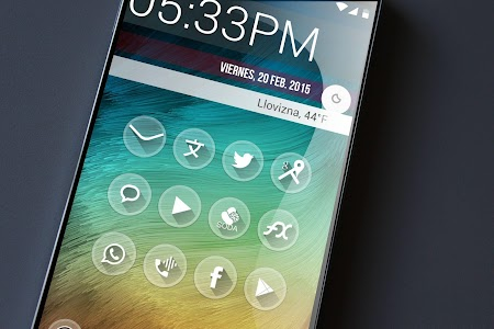 one Theme HD icons Pack Glass v2