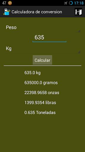 【免費教育App】Calculadora de conversion-APP點子
