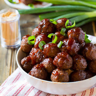 Crock Pot Cranberry Meatballs.