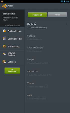 Mobile Backup & Restore 1.0.7754 screenshot 6101