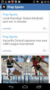 Vacaville Reporter- screenshot thumbnail