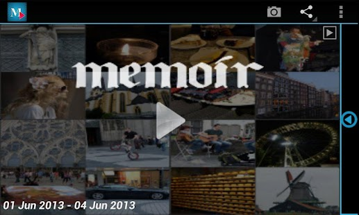 Memoir -Everyday video collage - screenshot thumbnail
