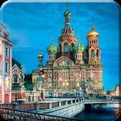 Russia Night Live Wallpaper HD