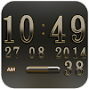 Digi Clock Widget Iridium APK Icon