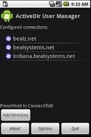 Screenshot of Free ActiveDir Manager