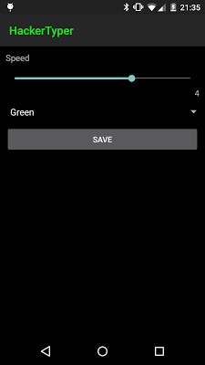 Hacker Typer - screenshot
