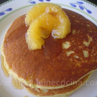 Cornmeal Hotcakes with Orange.