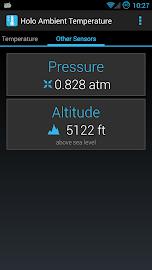 Holo Ambient Temperature Screenshot 2