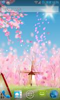 Screenshot of Sakura Live Wallpaper FREE