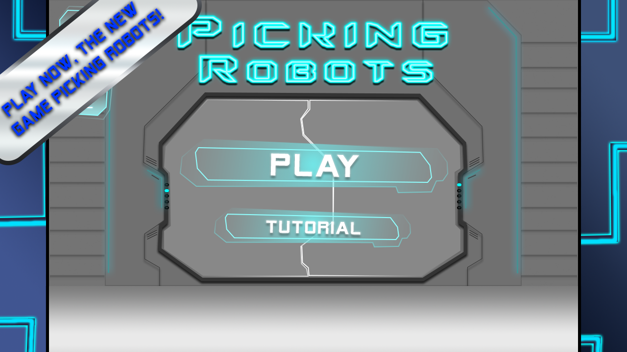 Picking Robots- screenshot