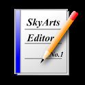 SkyArts Editor logo