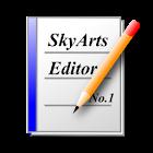 SkyArts Editor icon