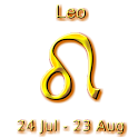 Leo Zodiac Sign icon